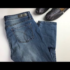 Calvin Klein Jeans Ankle Skinny Size 8